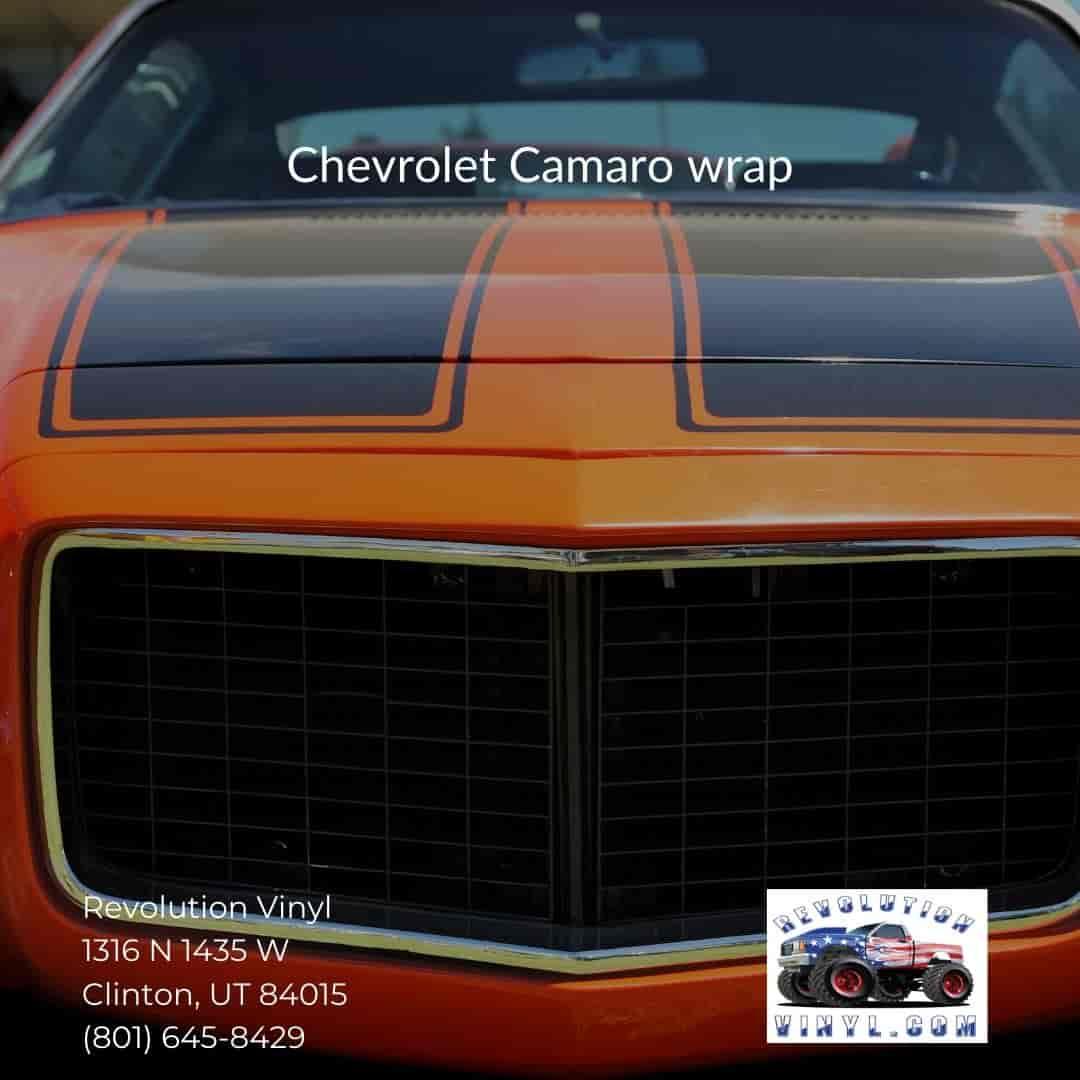 Ogden Vehicle Graphics wrap - Revolution Vinyl