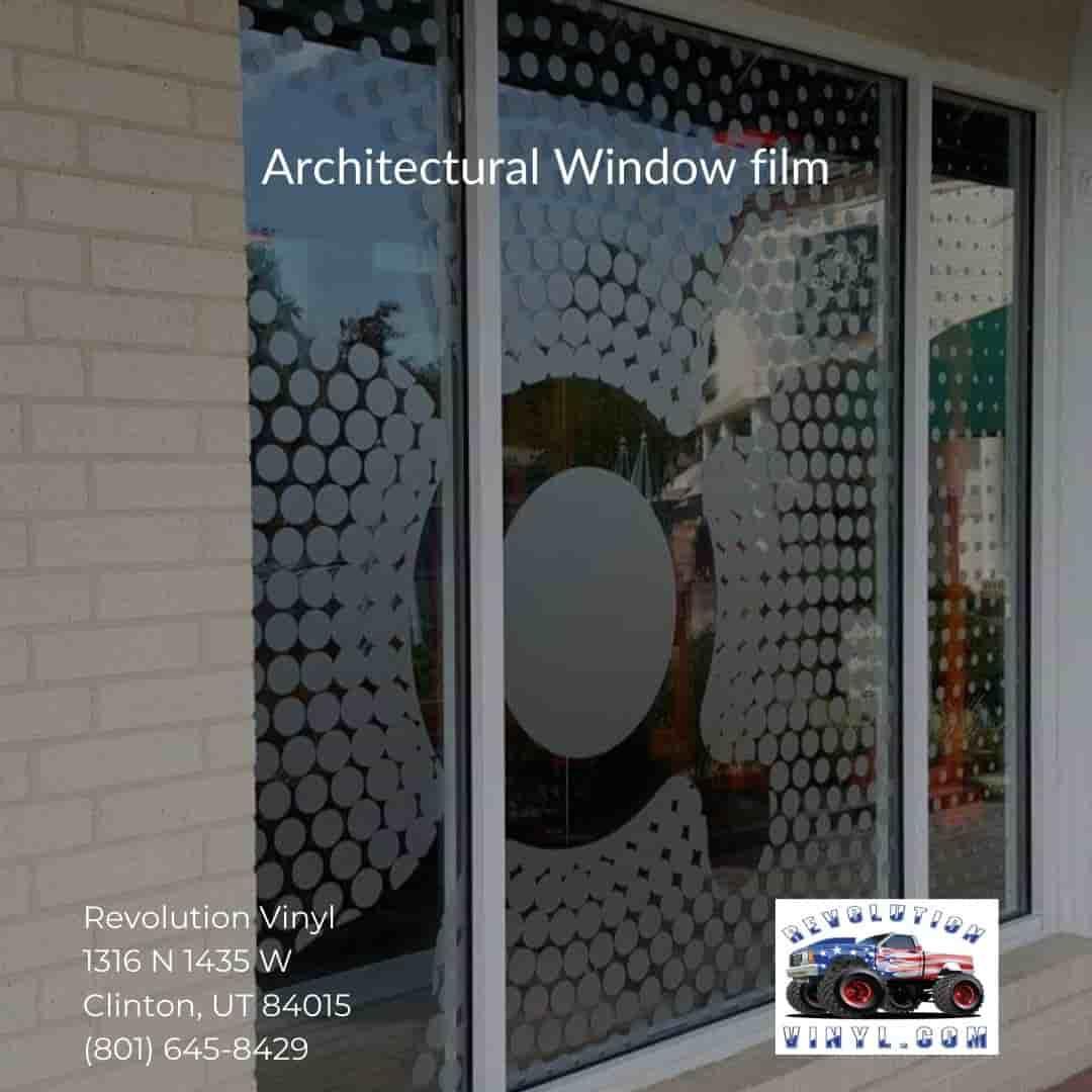 Ogden Window film - Revolution Vinyl