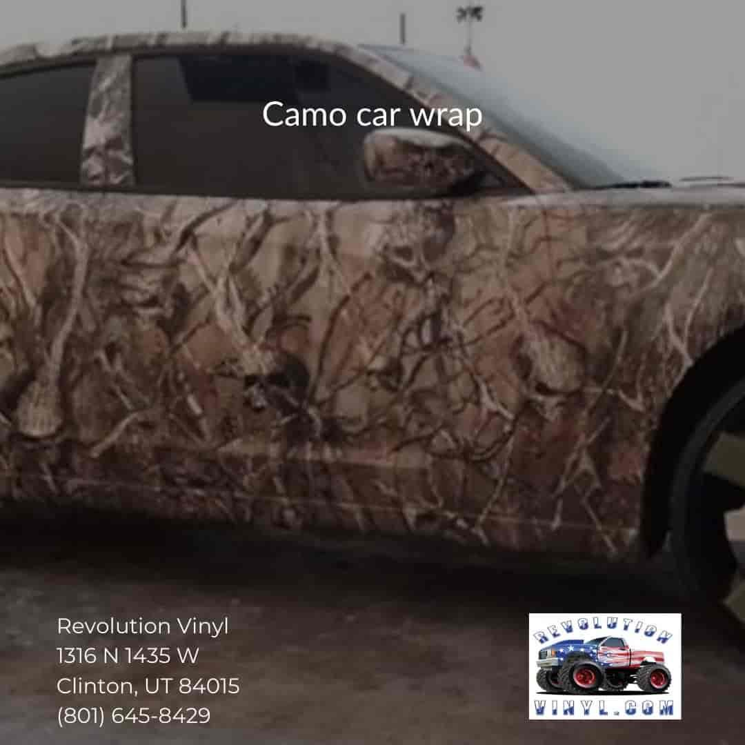 Ogden car wraps - Revolution Vinyl