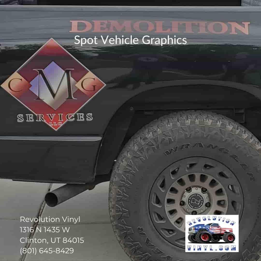 Vehicle Graphics Ogden UT - Revolution Vinyl