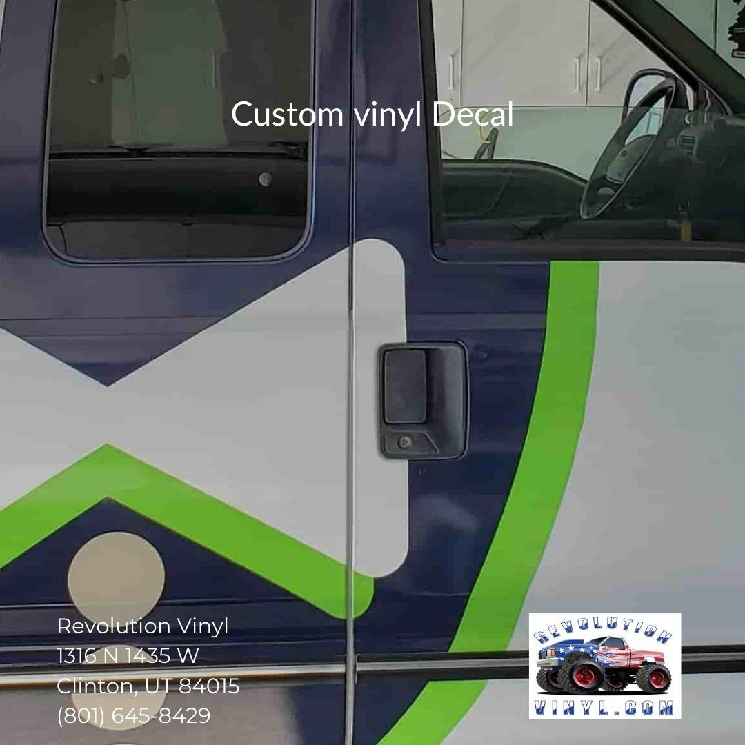 custom vinyl Decal - Revolution Vinyl