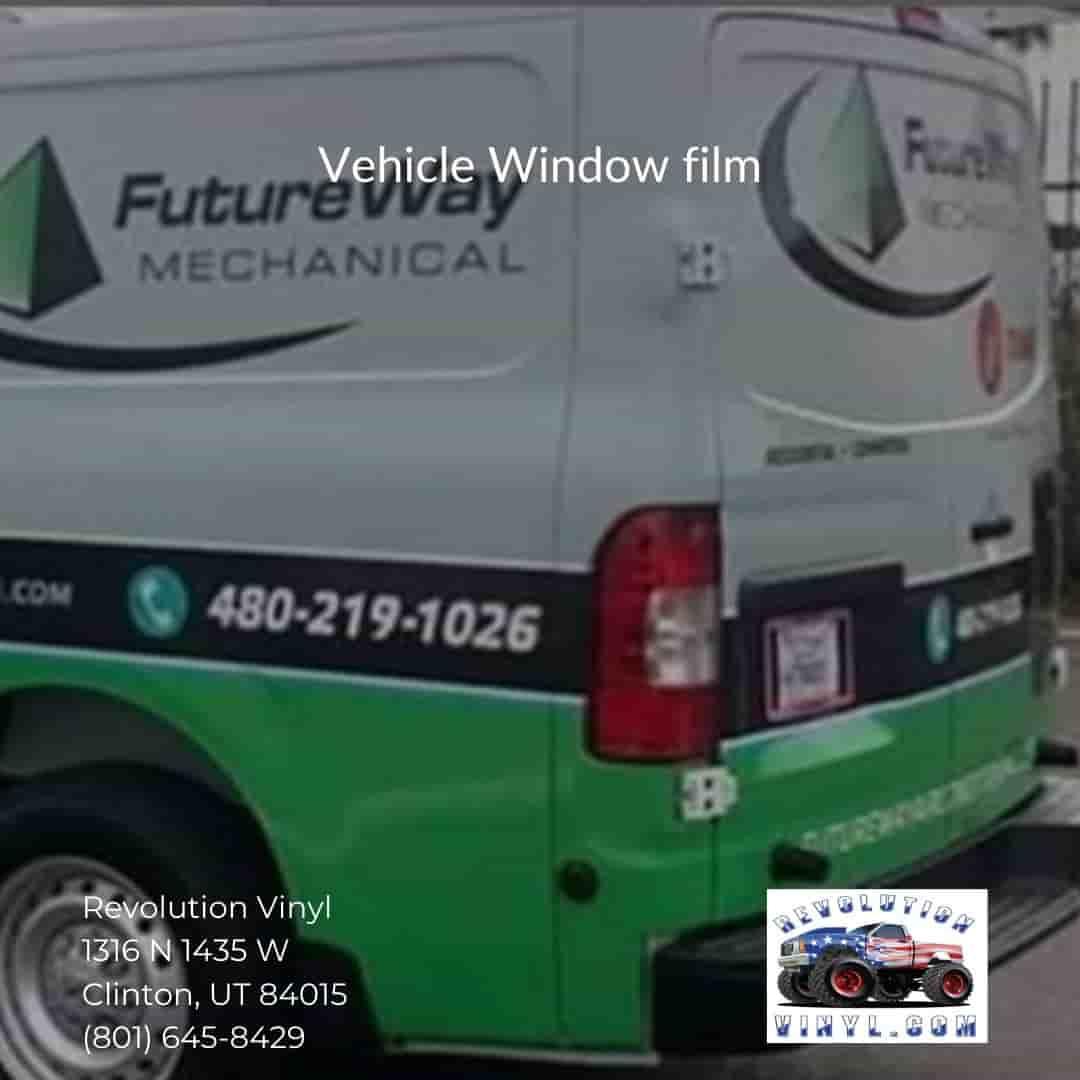 perf Window film - Revolution Vinyl