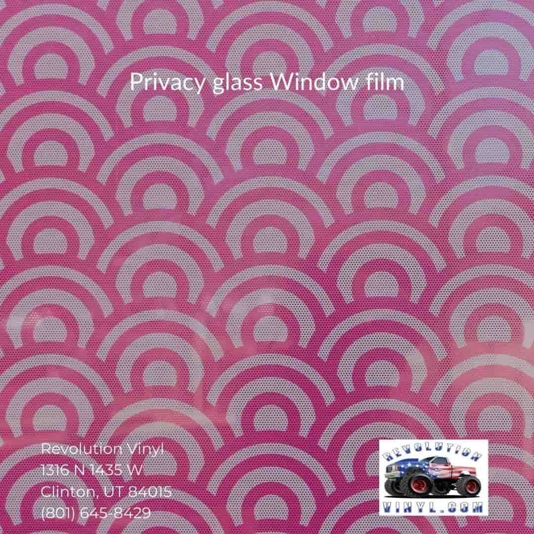 privacy Window film - Revolution Vinyl